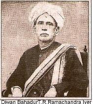 Diwan Bhagadur TR Ramachandra iyer