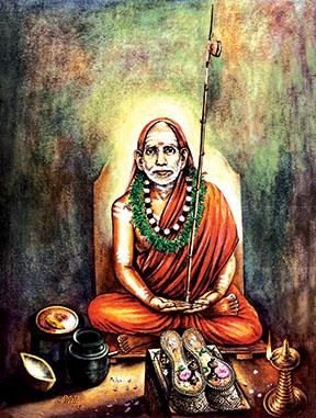 Sri Jagath Guru Chandrasekarendra Saraswathy Swamigal(Paramacharyal-1956)